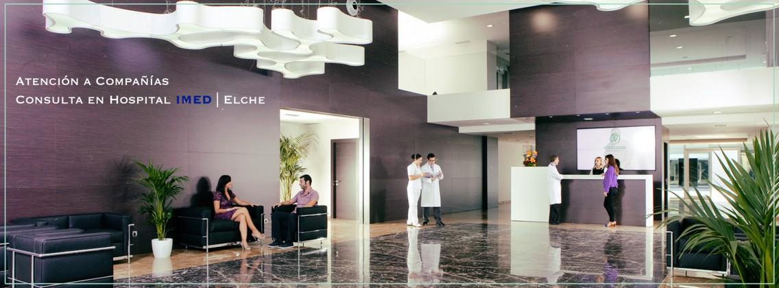 Atención a Compañías Consulta en Hospital IMED | Elche